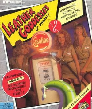 Leather Goddesses of Phobos 2: Gas Pump Girls Meet the Pulsating Inconvenience from Planet X! - Image: Leather Goddesses of Phobos 2 cover