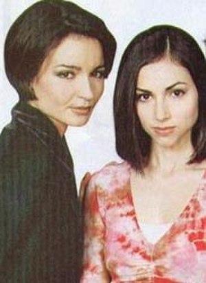 Lena Kundera and Bianca Montgomery - Olga Sosnovska as Lena (left) and Eden Riegel as Bianca (right).