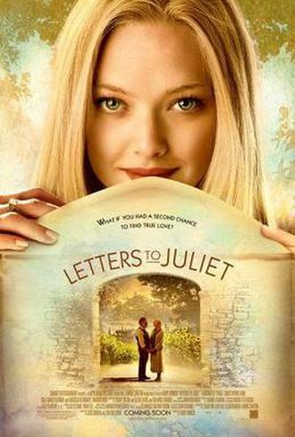 Letters to Juliet - Theatrical release poster