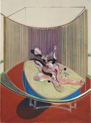 Version No. 2 of Lying Figure with Hypodermic Syringe - Version No. 2 of Lying Figure with Hypodermic Syringe, 1968. Oil on canvas, 197 x 147 cm. Private collection