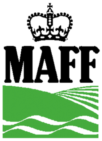 Ministry of Agriculture, Fisheries and Food (United Kingdom) - Logo of the Ministry of Agriculture, Fisheries and Food