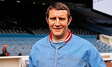 Malcolm Allison in Manchester City colours during the 1970s.