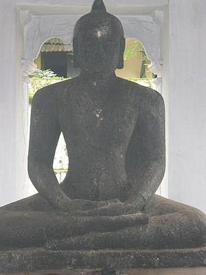 Odanad - Buddha statue at Mavelikkara