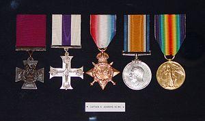 Harold Ackroyd - The medals of Harold Ackroyd