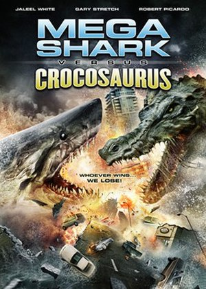 Mega Shark Versus Crocosaurus - DVD cover