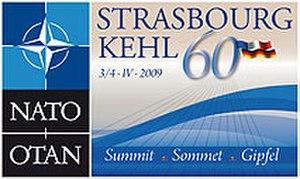 2009 Strasbourg–Kehl summit - Strasbourg–Kehl summit logo