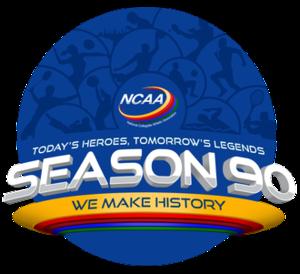 NCAA Season 90 - Image: NCAA PH 90