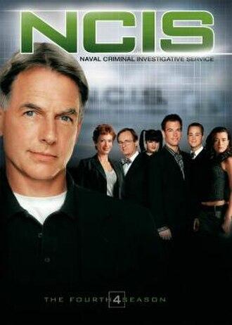 NCIS (season 4) - Season 4 U.S. DVD cover