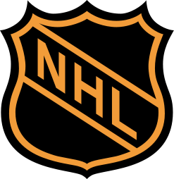 Original NHL logo, used before 2005. A version...