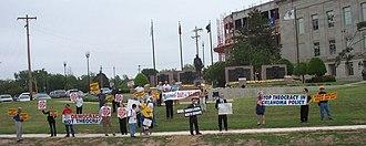 National Day of Reason - A National Day of Reason protest in Oklahoma City