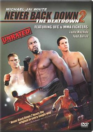 Never Back Down 2: The Beatdown - DVD cover