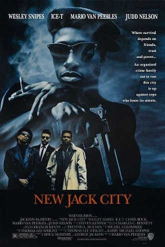 New Jack City - Theatrical release poster