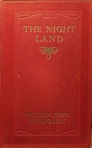 The Night Land - cover of The Night Land