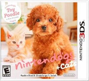 Nintendogs + Cats - Image: Nintendogs+cats box art