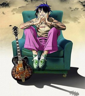 Noodle (character) Fictional Japanese guitarist for the virtual band Gorillaz