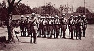 Nyasaland Volunteer Reserve soldiers in 1914/15