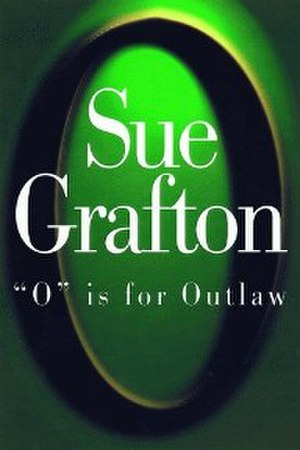 """O"" Is for Outlaw - First edition cover"