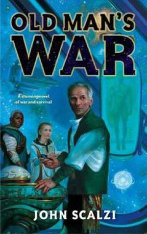 Old Man's War - Cover of first edition (hardcover)