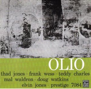 Olio (Thad Jones album) - Image: Olio (Thad Jones album)