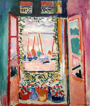 Open Window, Collioure (1905, Henri Matisse) i...