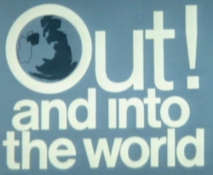 United Kingdom European Communities membership referendum, 1975 - Logo of the Out into the World campaign by the National Referendum Campaign.