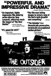 <i>The Outsider</i> (1980 film) 1980 film