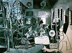 Picasso's 1957 recreation of Las Meninas