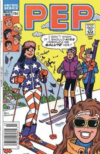 Pep Comics - Image: Pep 411
