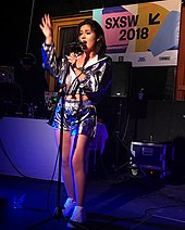 Performing at SXSW in Austin, Texas 2018.JPG