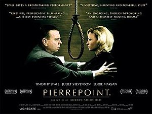 Pierrepoint (film) - British theatrical quad