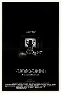 <i>Poltergeist</i> (1982 film) 1982 American supernatural horror film directed by Tobe Hooper