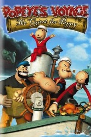Popeye's Voyage: The Quest for Pappy - DVD cover