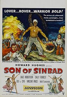 <i>Son of Sinbad</i> 1955 film by Ted Tetzlaff