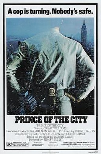 Prince of the City (film) - Theatrical poster