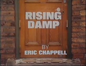 Rising Damp - Opening title of Series 1