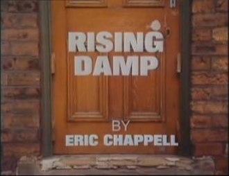 Rising Damp - Opening title of Series 1