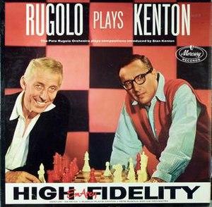 Rugolo Plays Kenton - Image: Rugolo Plays Kenton
