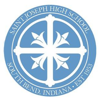 St. Joseph High School (South Bend, Indiana) - Image: SJHS Blue Seal