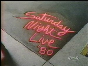 Saturday Night Live (season 6) - Image: SNL1980scard