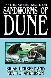 <i>Sandworms of Dune</i> novel by Kevin J. Anderson