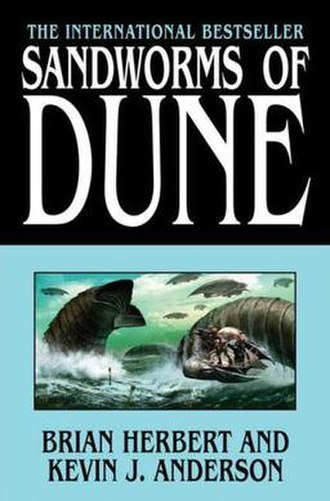 Sandworms of Dune - First edition cover