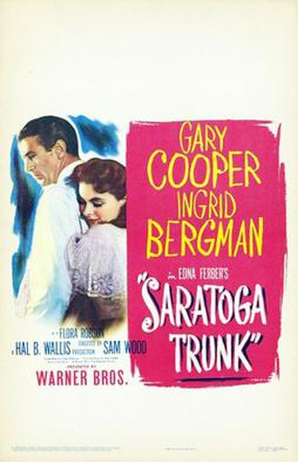 Saratoga Trunk - Theatrical release poster