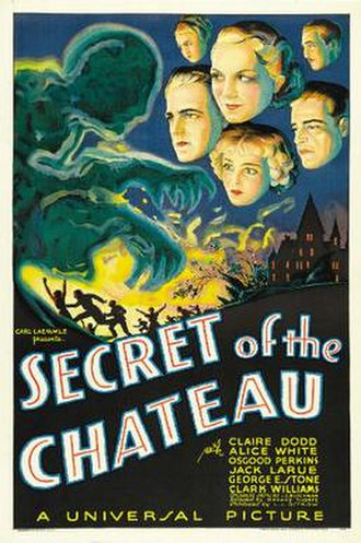 Secret of the Chateau - Theatrical release poster
