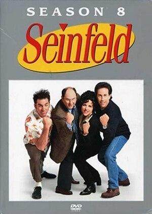 Seinfeld (season 8) - DVD cover