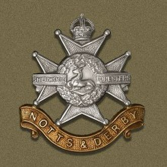 Sherwood Foresters - Cap Badge of the Sherwood Foresters