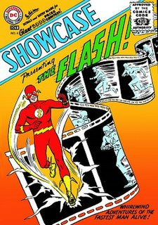 <i>Showcase</i> (comics) title of several comic anthology series published by DC Comics