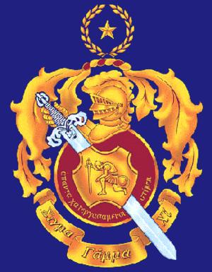 Sigma Gamma Chi - The crest of Sigma Gamma Chi