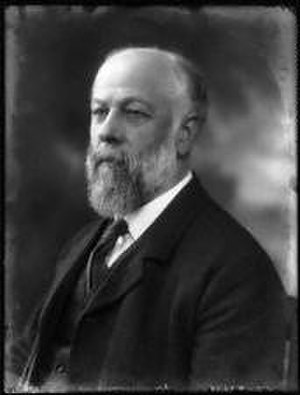William Ashley (economic historian) - Sir William Ashley by Bassano, 11 May 1923