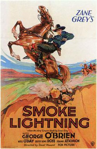 Smoke Lightning - Theatrical release poster