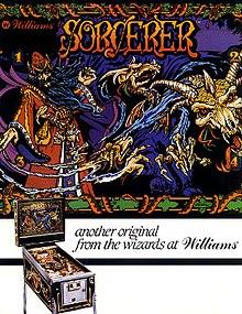 Sorcerer (pinball) - Wikipedia